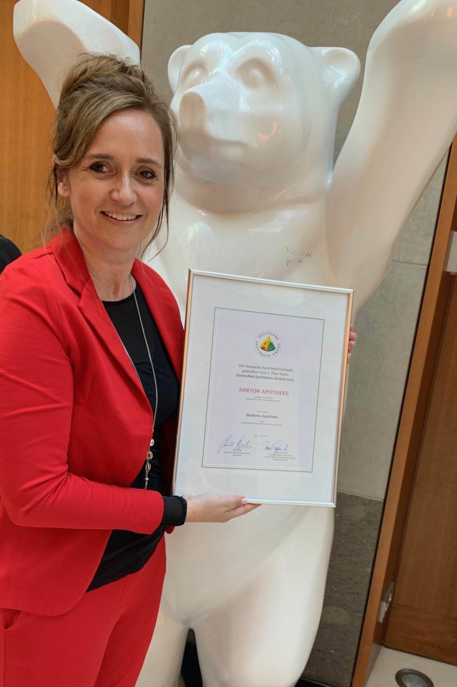 2. Platz beim Deutschen Apotheken Award